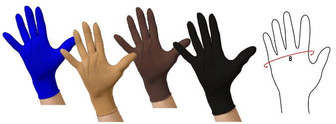 Ready Made Glove Pressure Garments